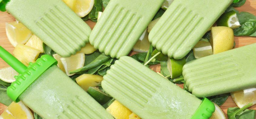 Zielone lody na patyku - zrobisz je w 15 minut!