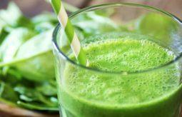 Zielony sok na zakwaszony organizm